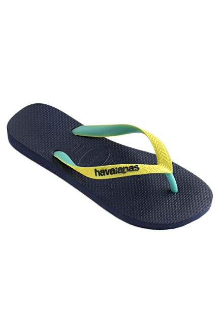 Chinelos Havaianas TOP MIX Navy/Neon Yellow