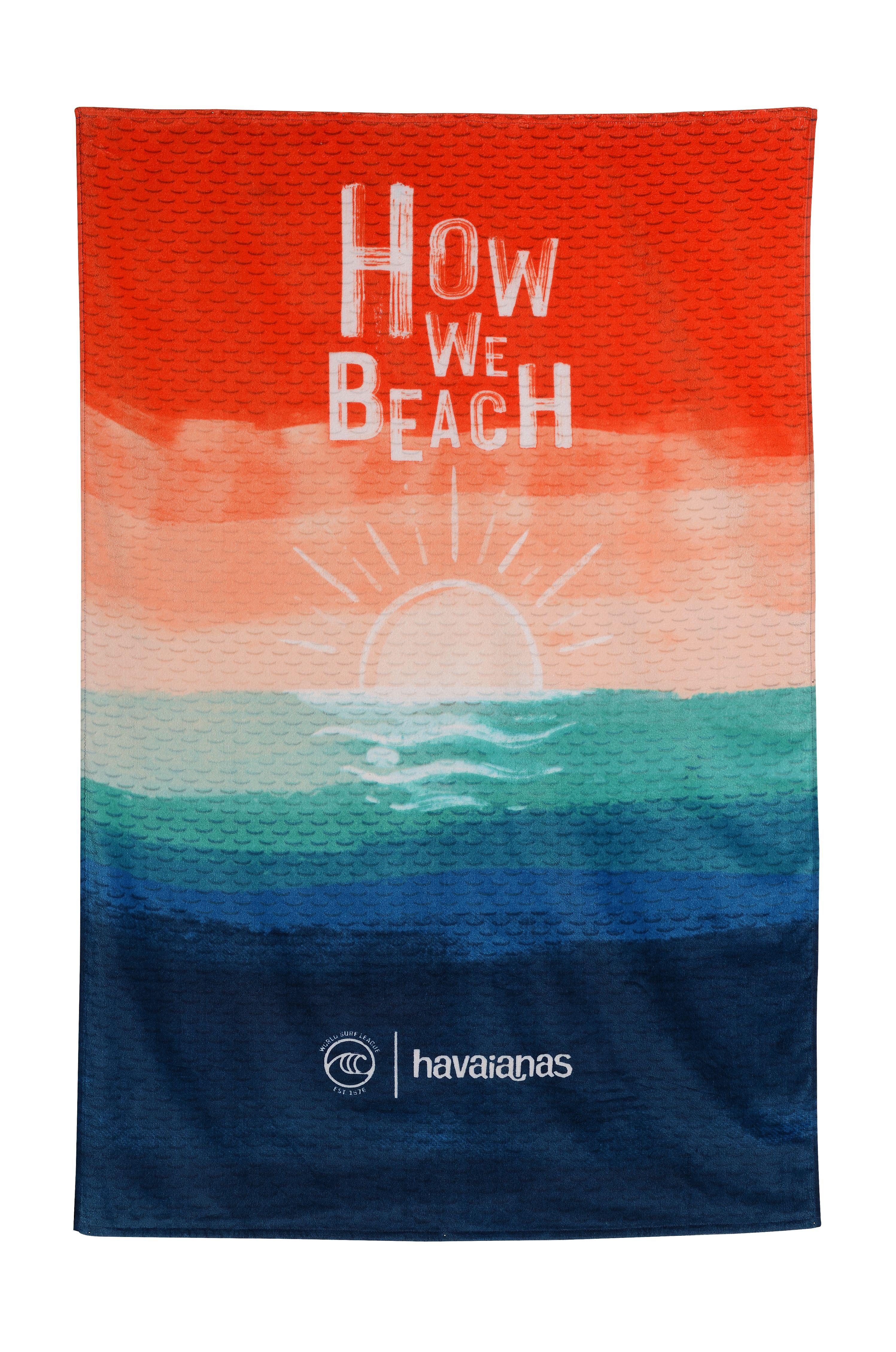 Havaianas Beach Towel WSL TOWEL Multicolor