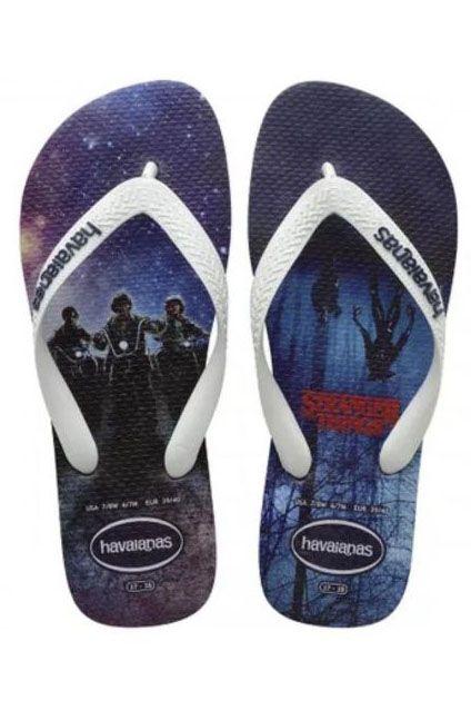 Havaianas Sandals TOP NETFLIX STRANGER THINGS Navy Blue
