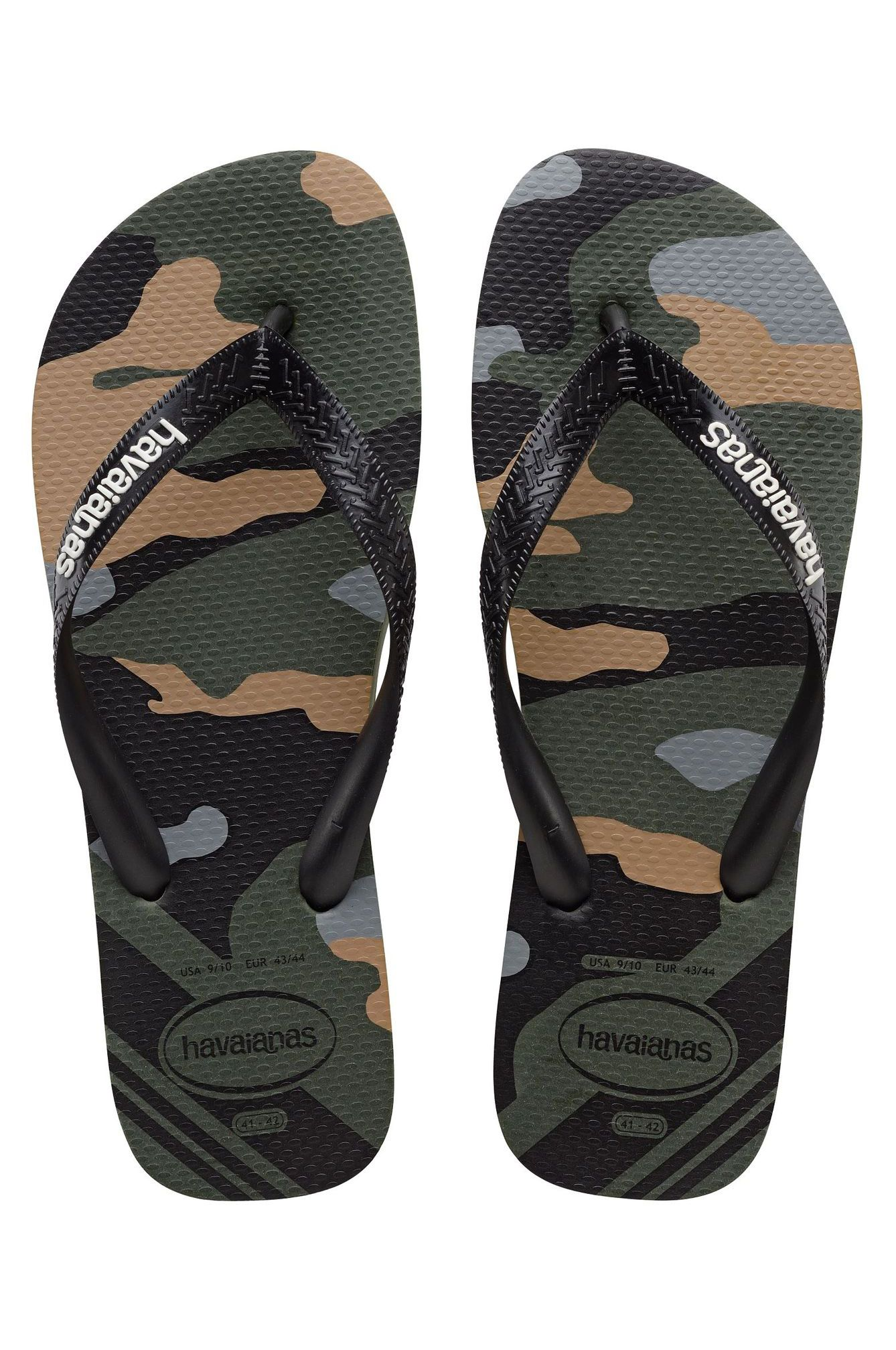 Chinelos Havaianas TOP CAMU Green Olive