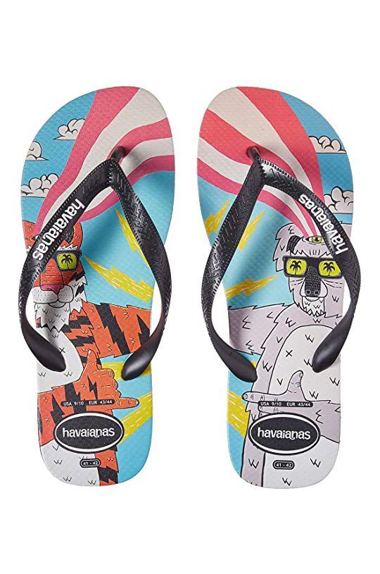 Havaianas Sandals TOP MULGA Black/Black/White