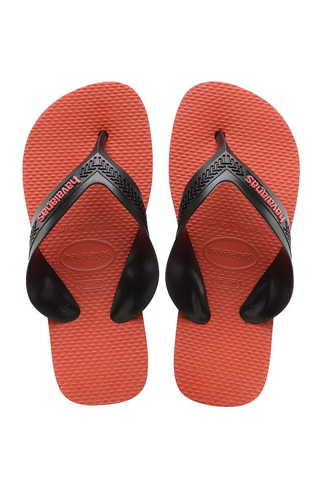 Havaianas Sandals KIDS MAX Black/Strawberry