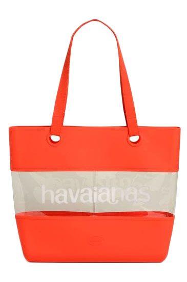 Mala Havaianas BEACH BAG Ruby Red
