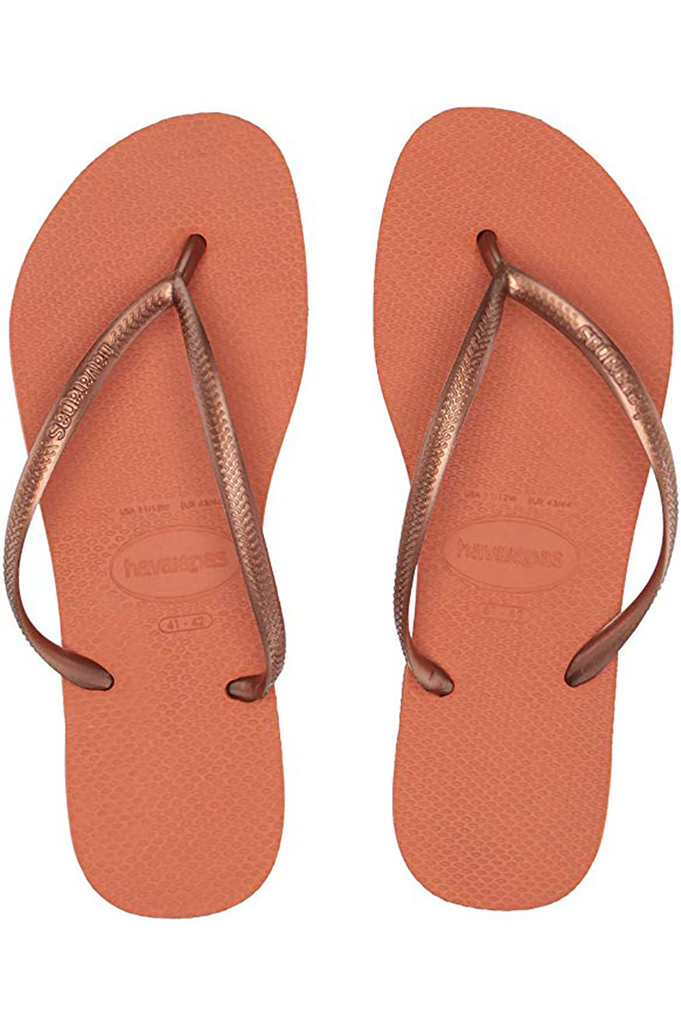 Chinelos Havaianas SLIM Orange Bronze