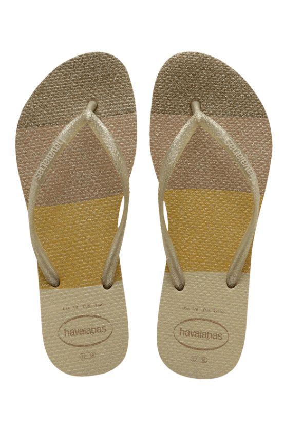 Havaianas Sandals SLIM PALETTE GLOW Sand Grey