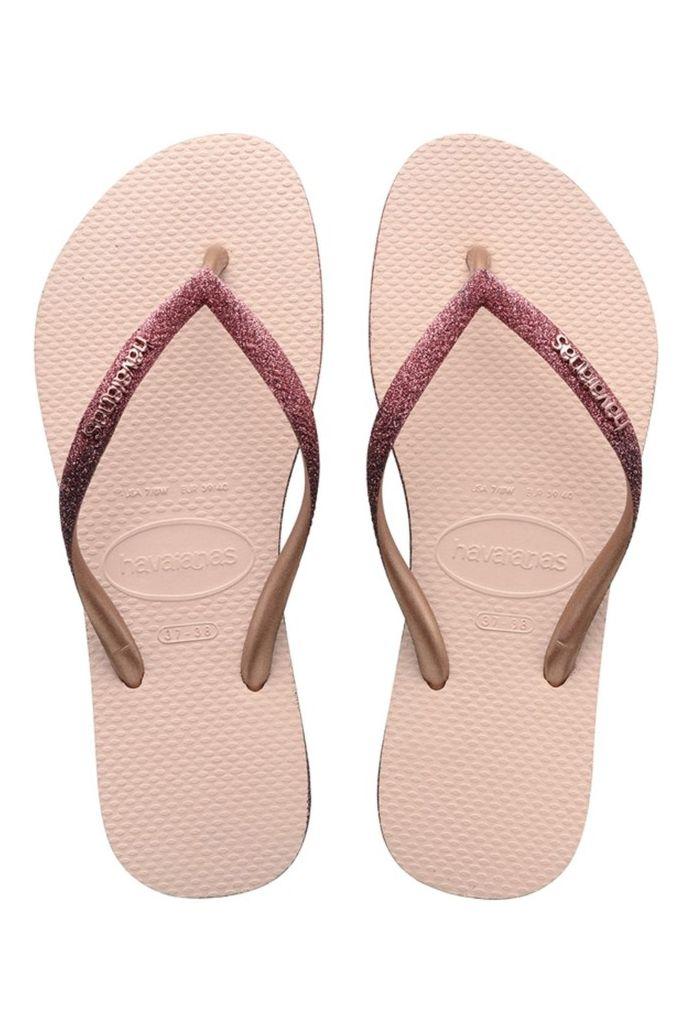 Havaianas Sandals SLIM SPARKLE II Ballet Rose