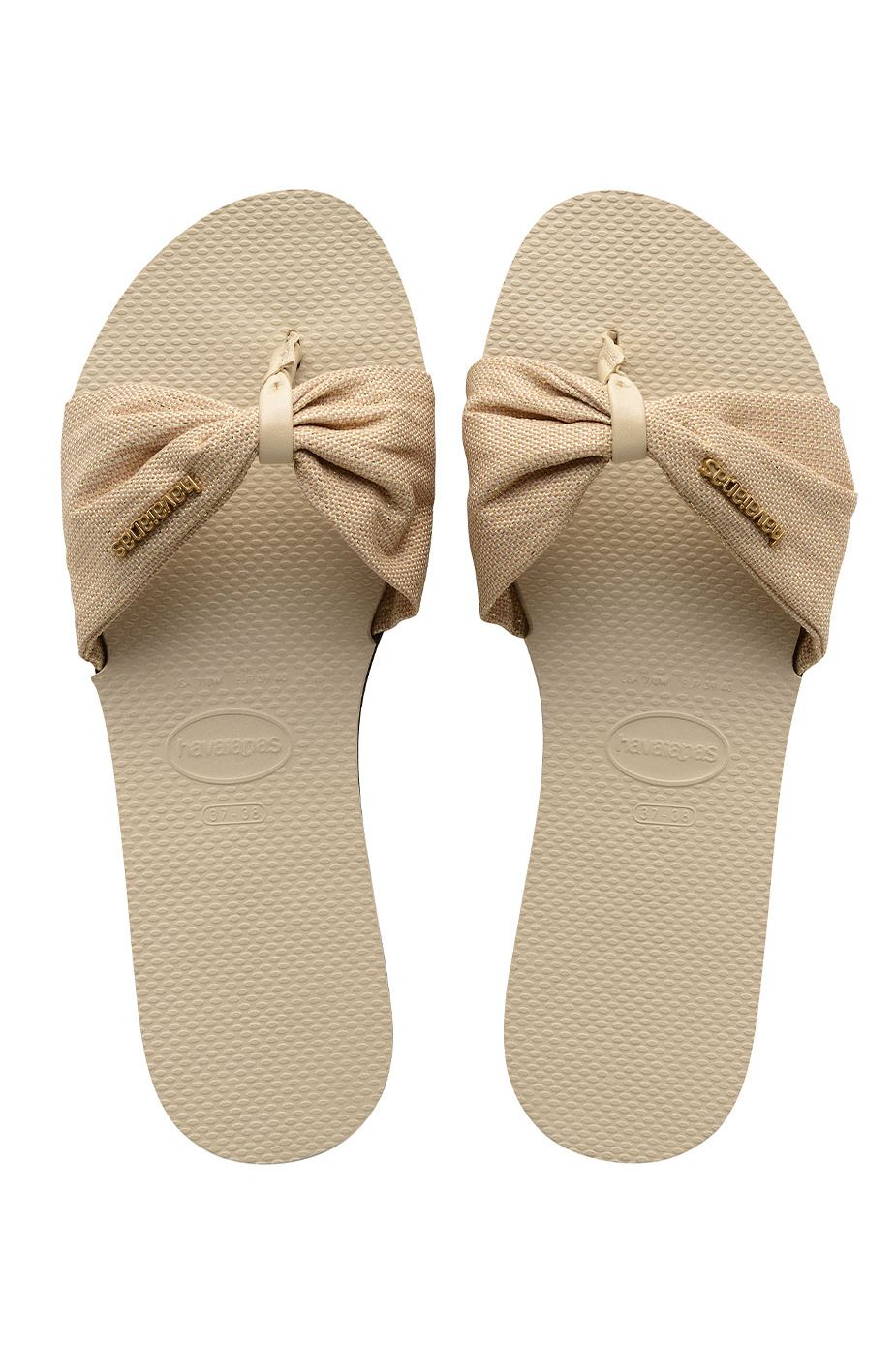 Havaianas Sandals YOU ST TROPEZ SHINE Beige