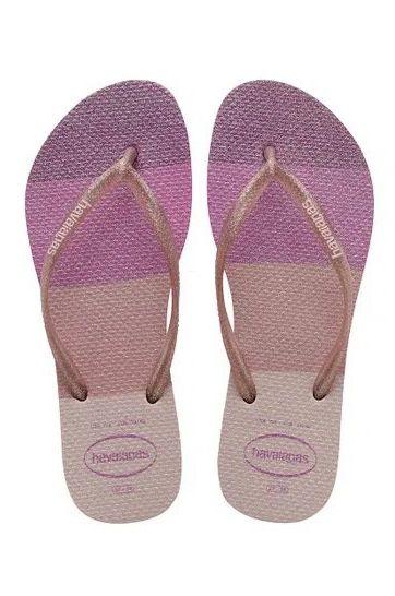 Havaianas Sandals SLIM PALETTE GLOW Candy Pink