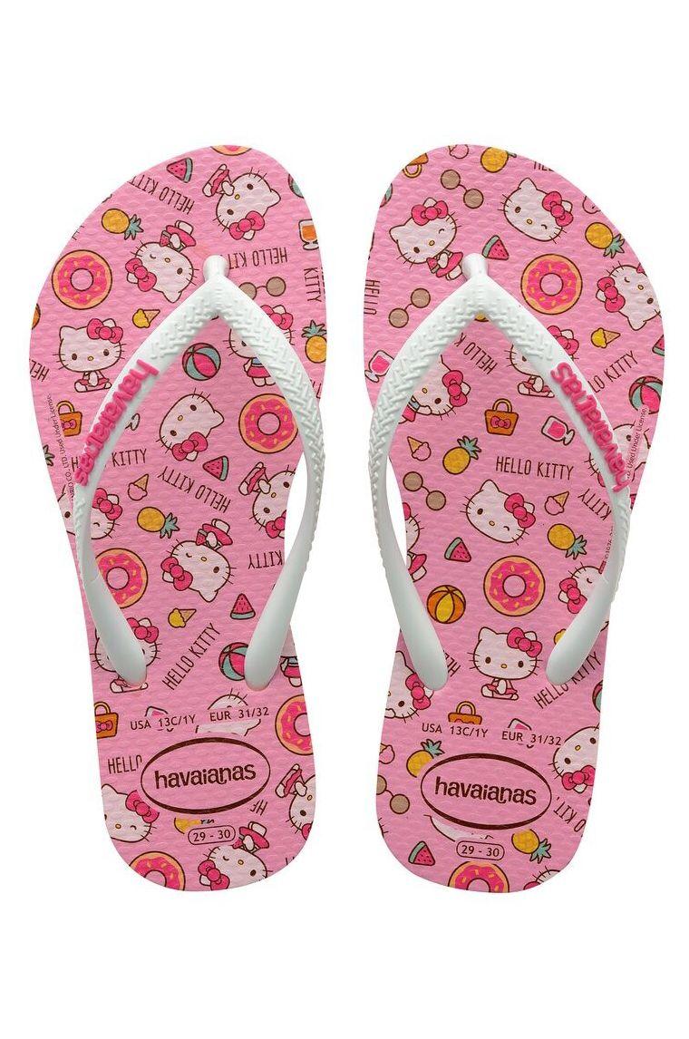 Havaianas Sandals KIDS SLIM HELLO KITTY Macaron Pink