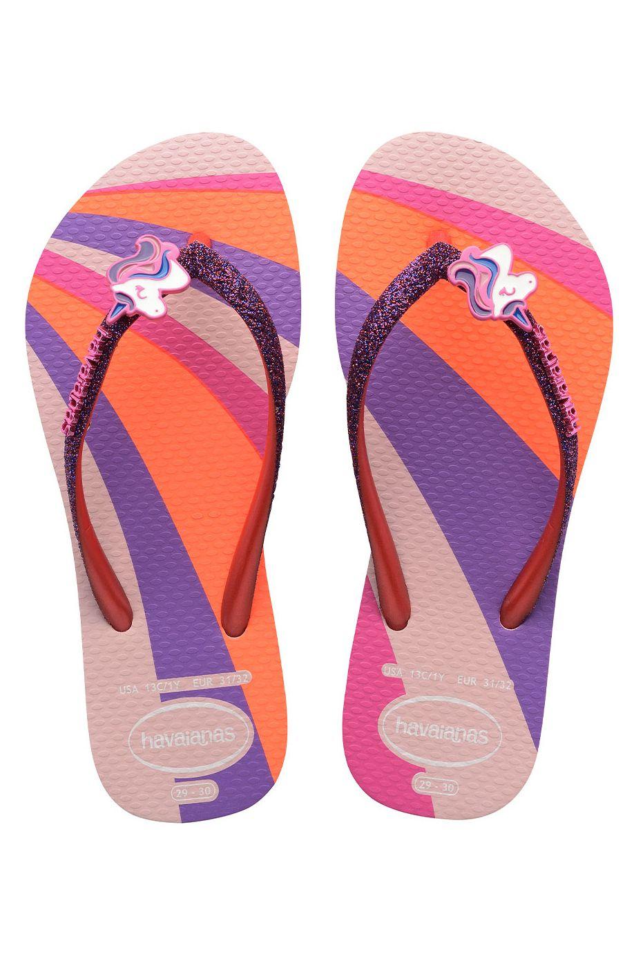 Havaianas Sandals SLIM GLITTER II Candy Pink