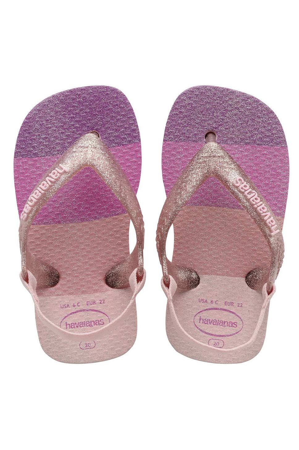 Havaianas Sandals BABY PALETTE GLOW Candy Pink