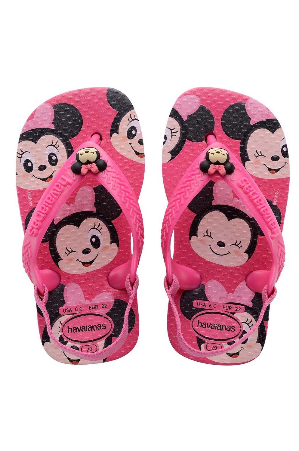 Havaianas Sandals BABY DISNEY CLASSICS II Pink Flux