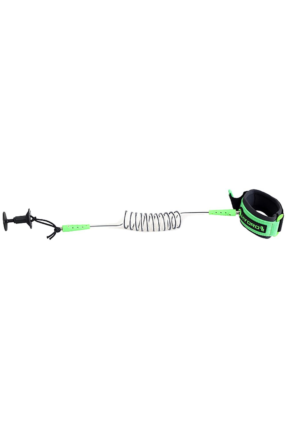 Hydro Leash HYDRO BODYBOARD WRIST LEASH CHAROCAL/GREEN Assorted