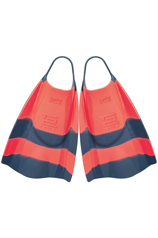Hydro Bodyboard Fins TECH 2 Tang/Navy