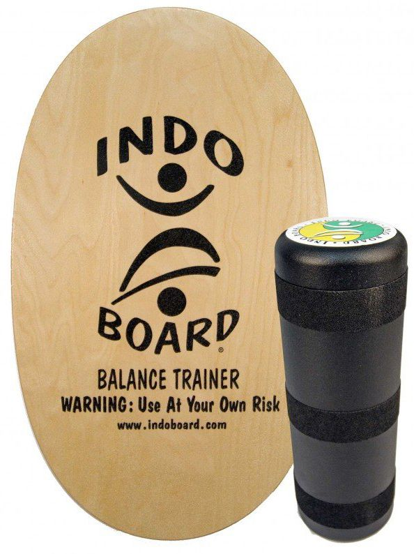 Tabua Indoboard ORIGINAL 'CLEAR/NATURAL' + MEDIUM ROLLER Natural