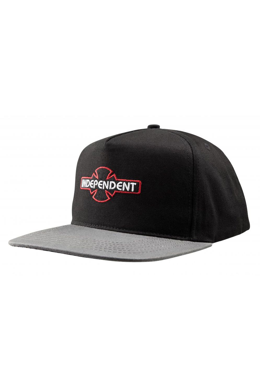 Bone Independent ARRAY SNAPBACK CAP Black