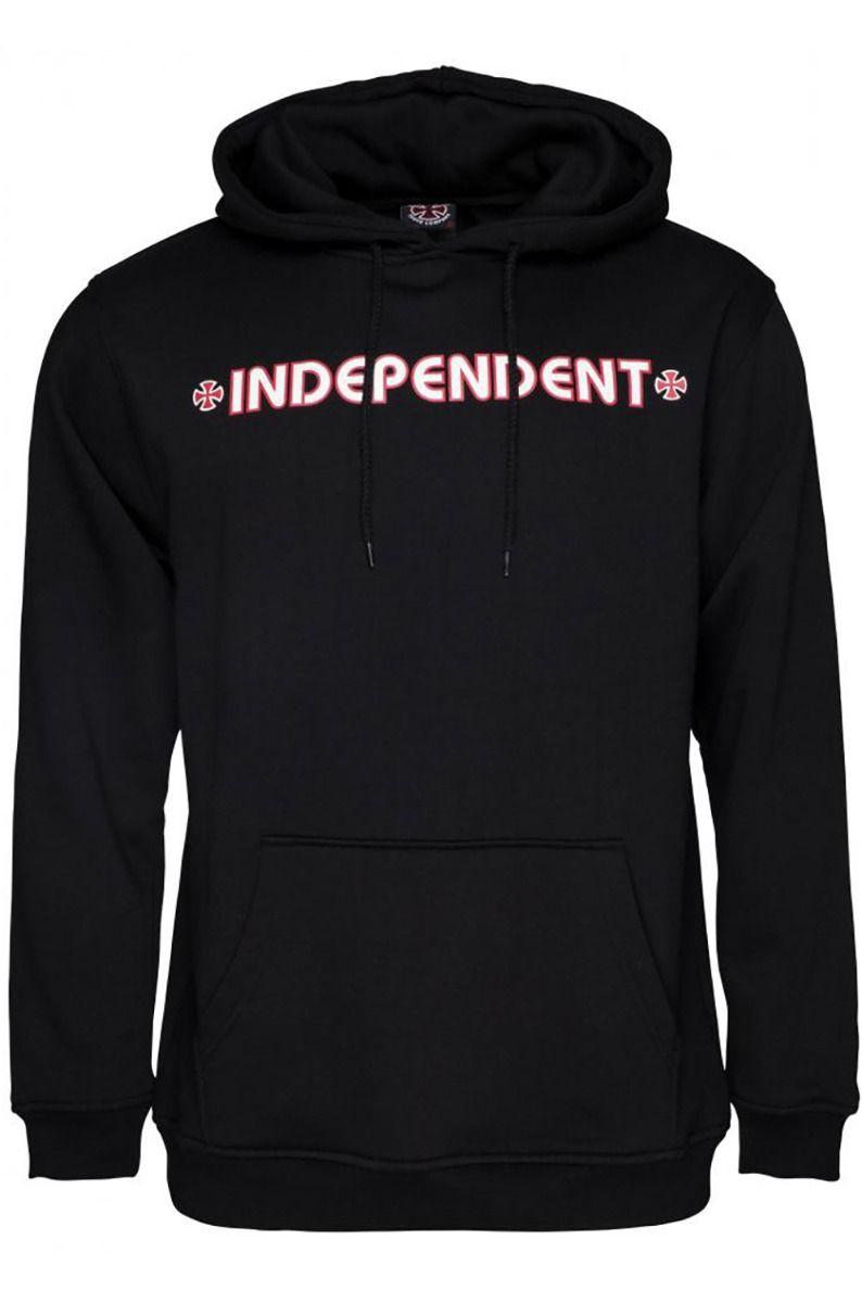 Independent Sweat Hood BAR/CROSS HOOD Black