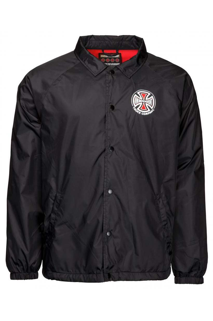Blusão Independent TRUCK CO. COACH JACKET Black