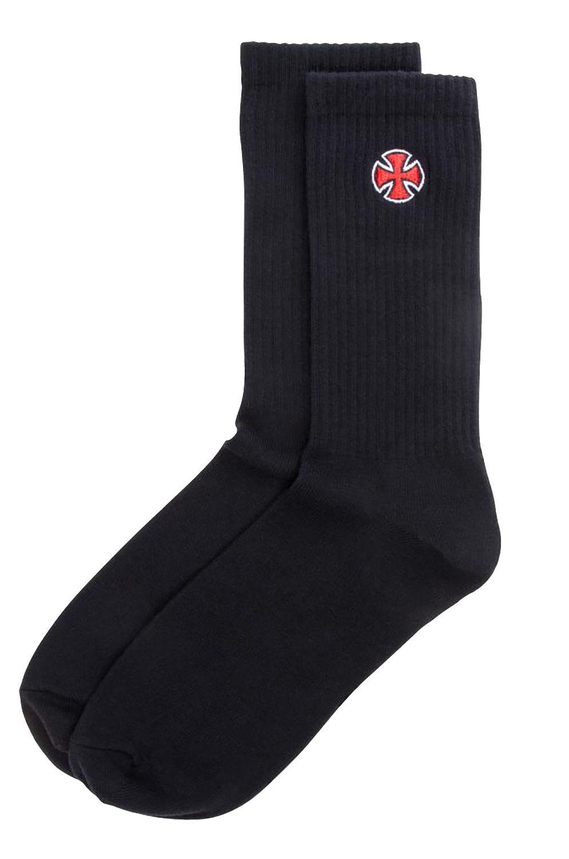 Independent Socks CROSS SOCK Black