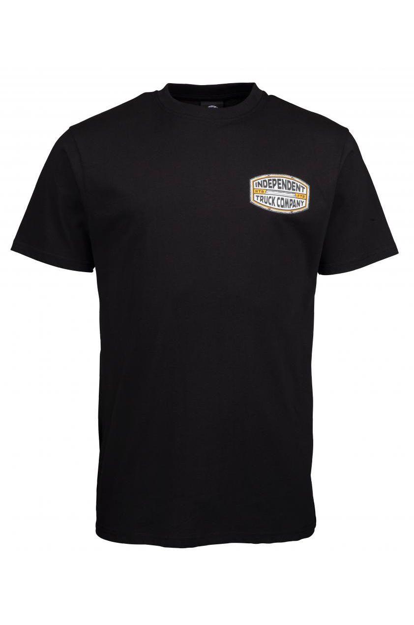 Independent T-Shirt ITC CURB T-SHIRT Black