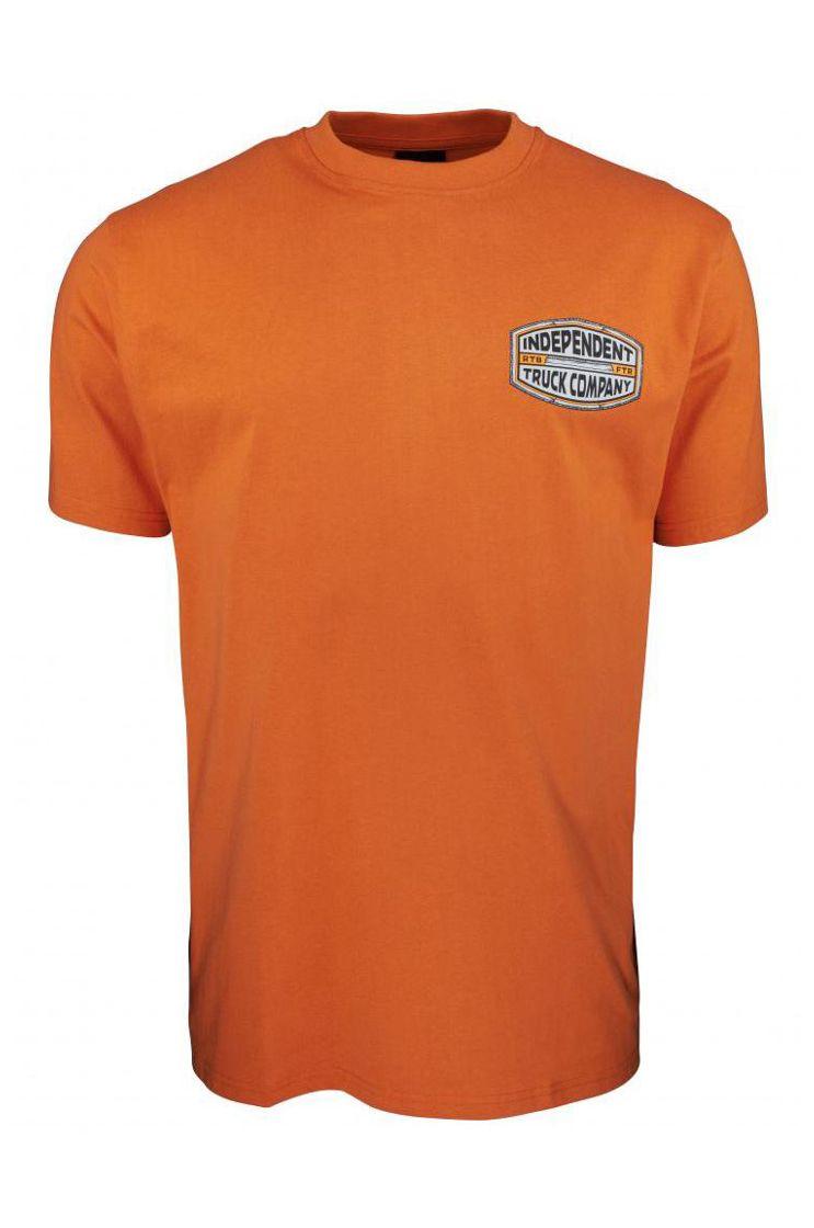 Independent T-Shirt ITC CURB T-SHIRT Rust