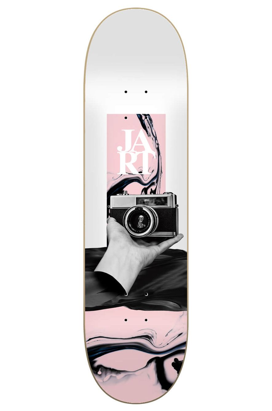 """Jart Skate Board 8.125"""" X 31.6"""" ABSTRACTION HC Assorted"""