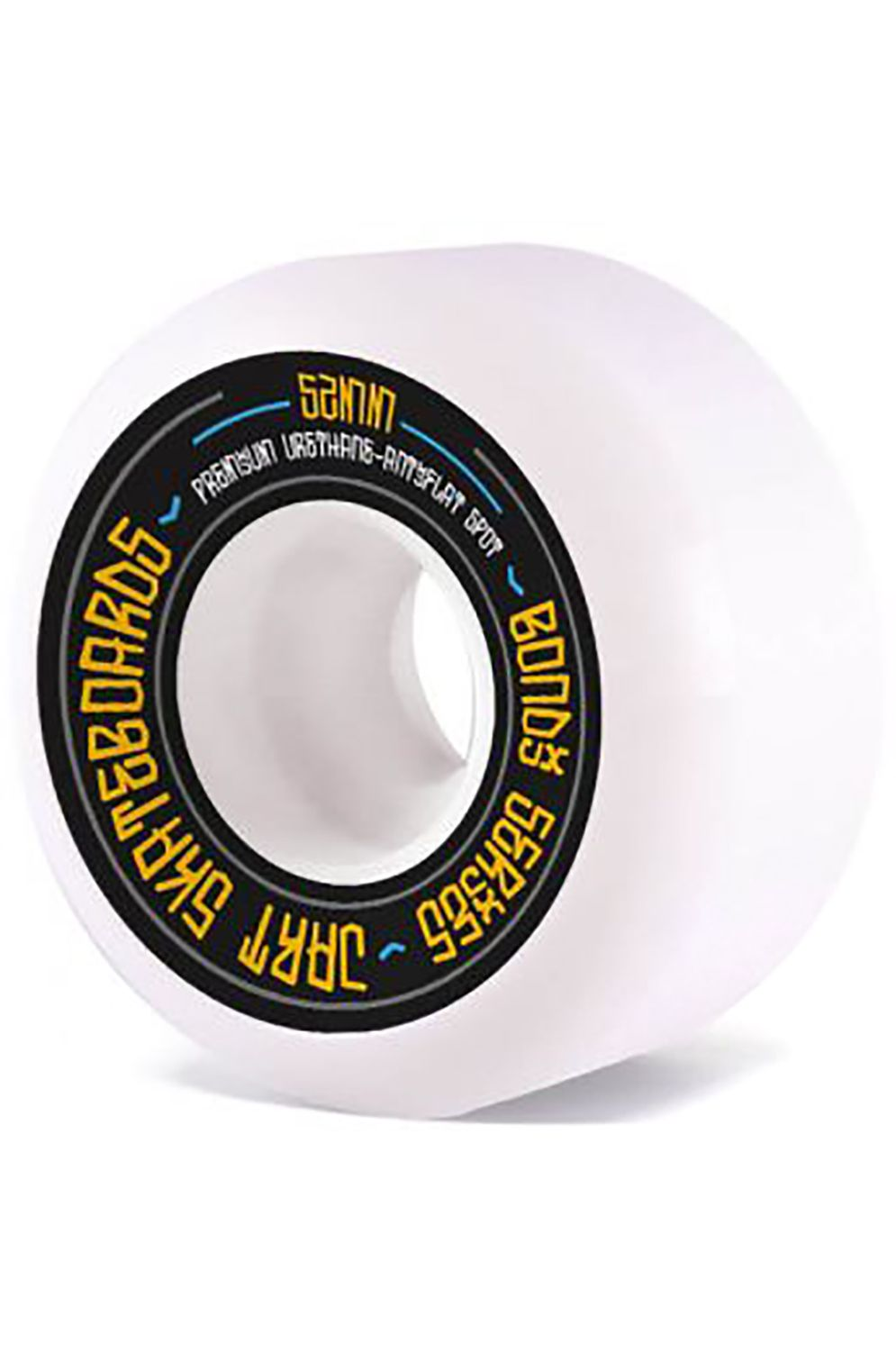 Jart Skate Wheels BONDI 52MM 83B Black