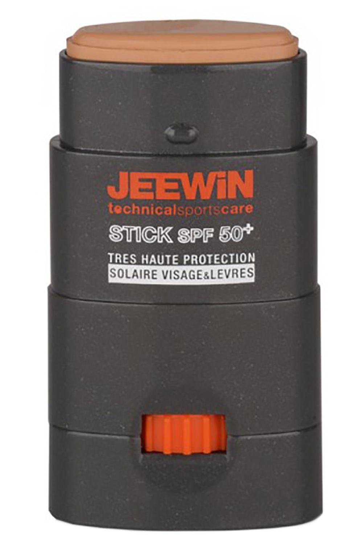 Jeewin Sunscreen FACE & LIPS SUN PROTECTING STICK SPF50+-12G Beige