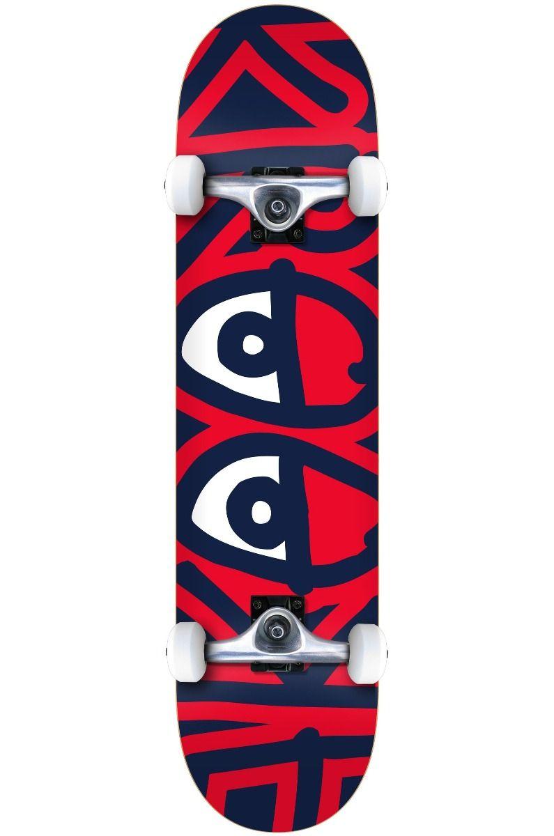 "Street Skate Krooked 7.75"" BIG EYES TWO Multi"