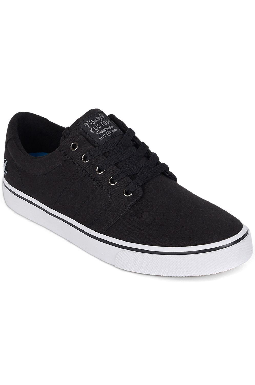 Kustom Shoes LAYDAY Black