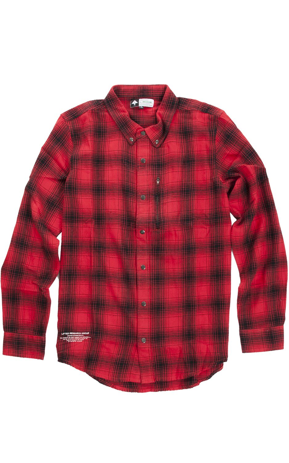 Camisa LRG IN THE SHADOWS Red