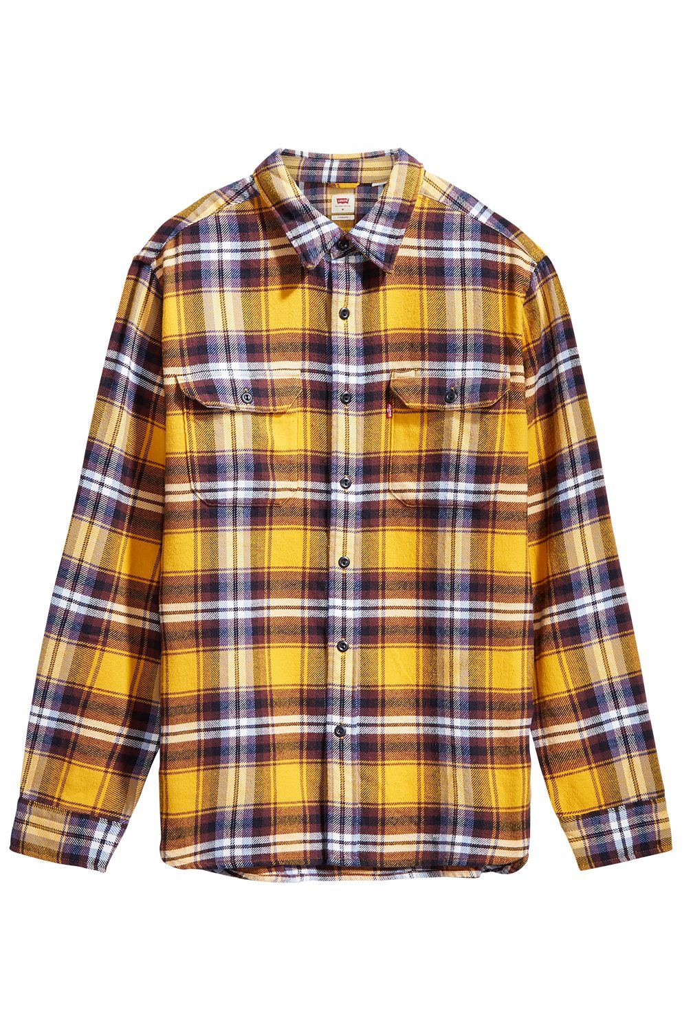 Levis Shirt JACKSON WORKER Andrusia Golden Yellow