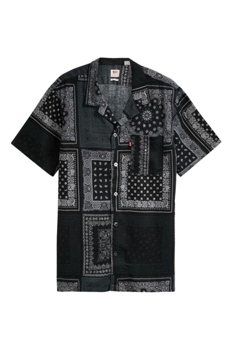 Camisa Levis CUBANO SHIRT Multibandana Beautiful Black