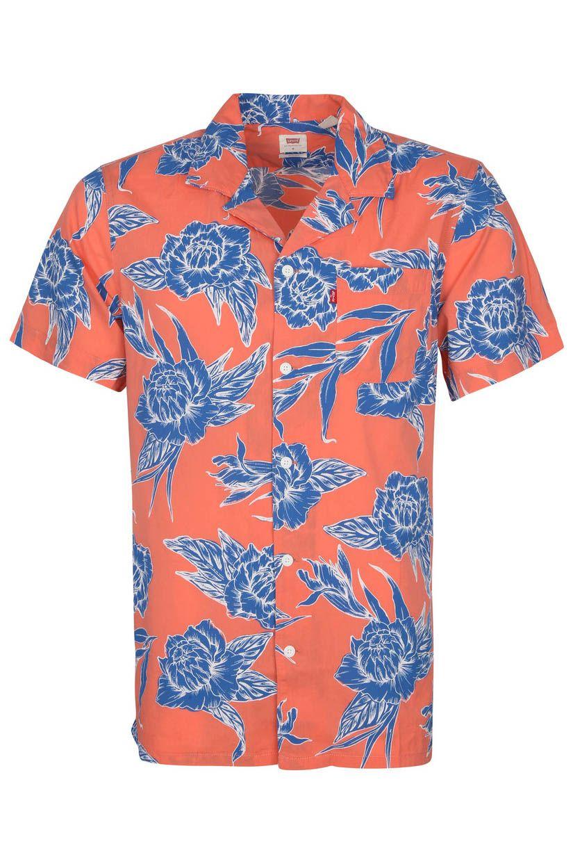 Camisa Levis S/S CLASSIC CAMPER Toile Floral Coral Quartz