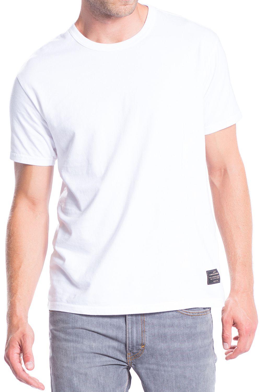 T-Shirt Levis SKATE White