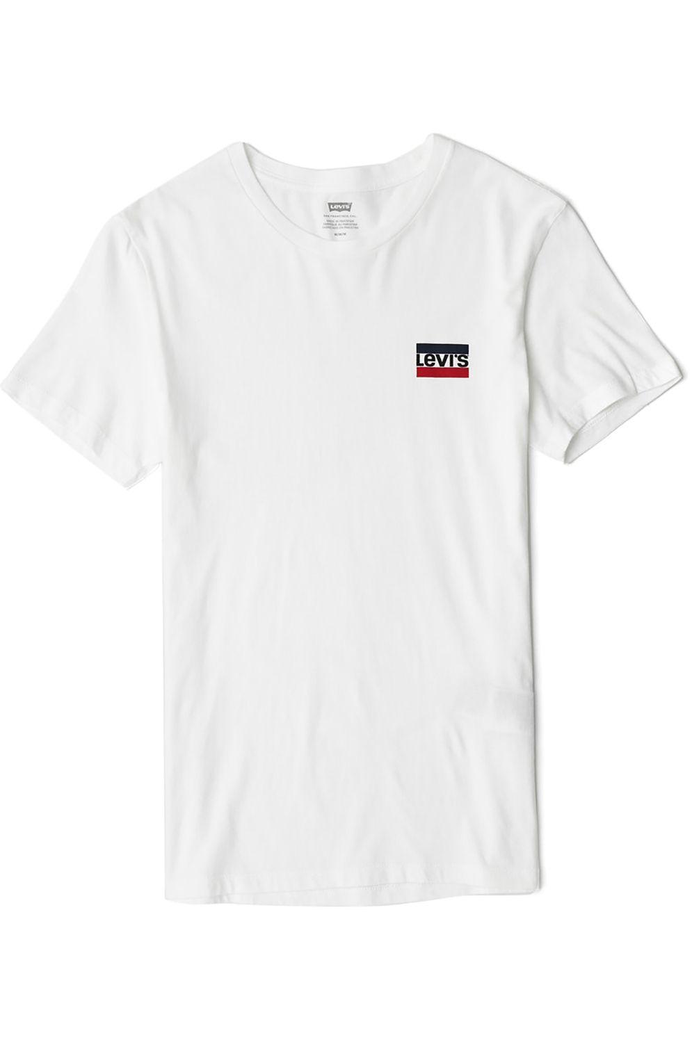 T-Shirt Levis CREWNECK GRAPHIC Sw White