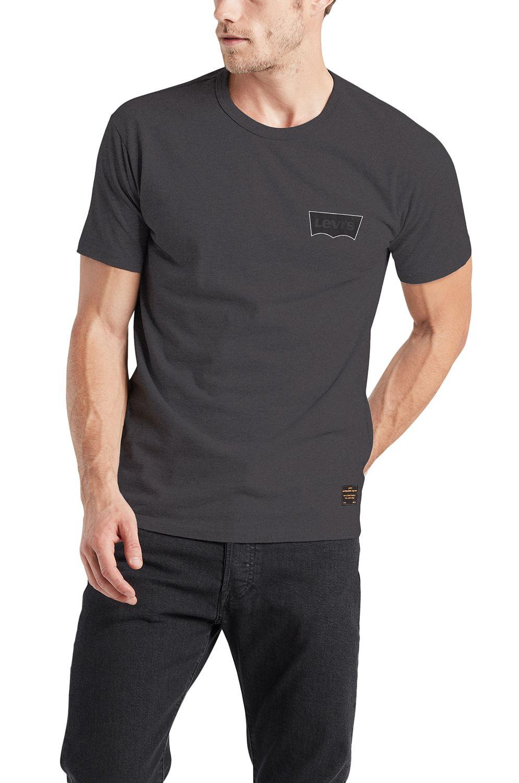 Levis T-Shirt SKATE GRAPHIC SS TEE Lsc Black Core Batwing Black