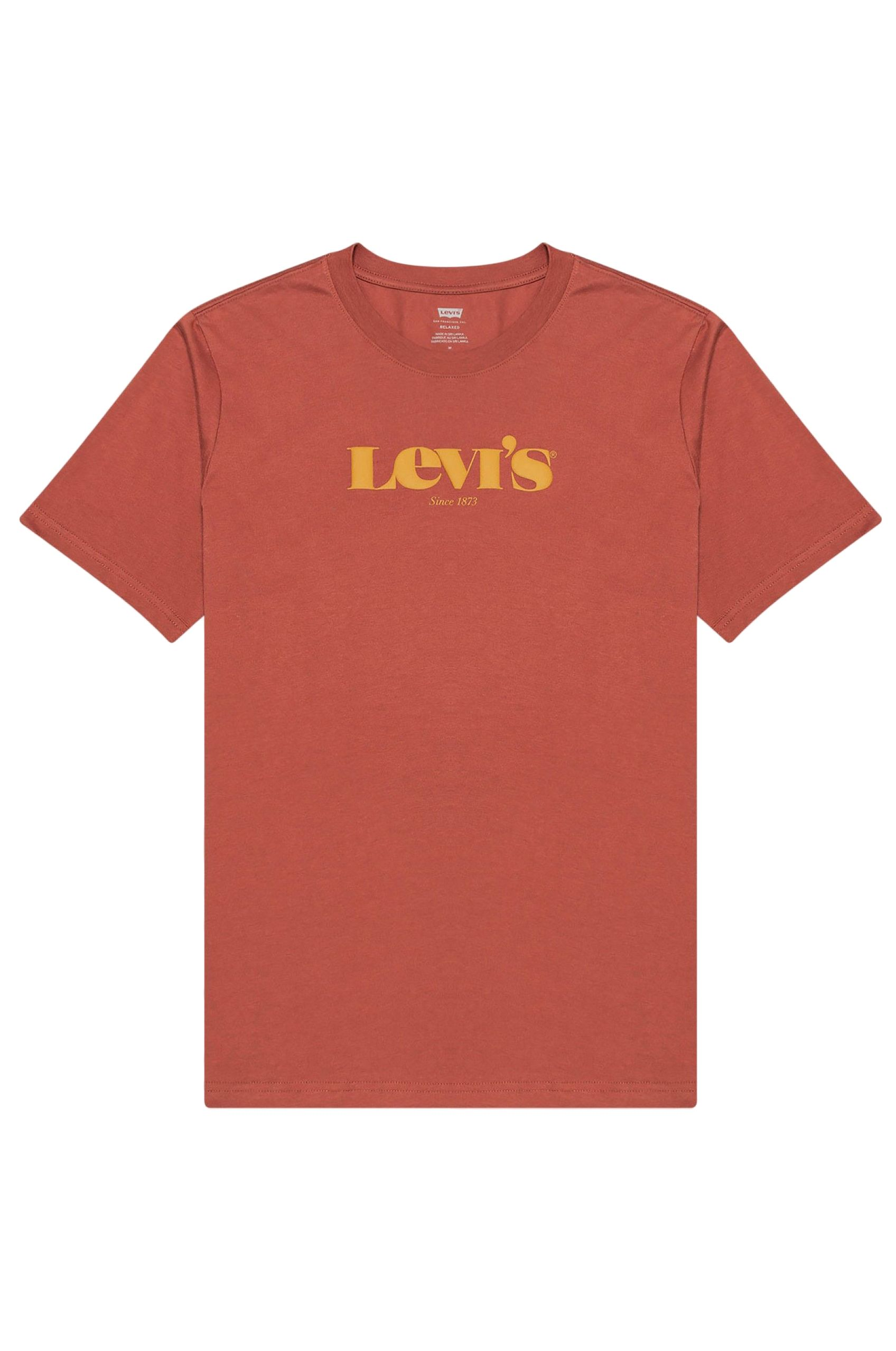 T-Shirt Levis RELAXED FIT Mv Ssnl Core Marsala
