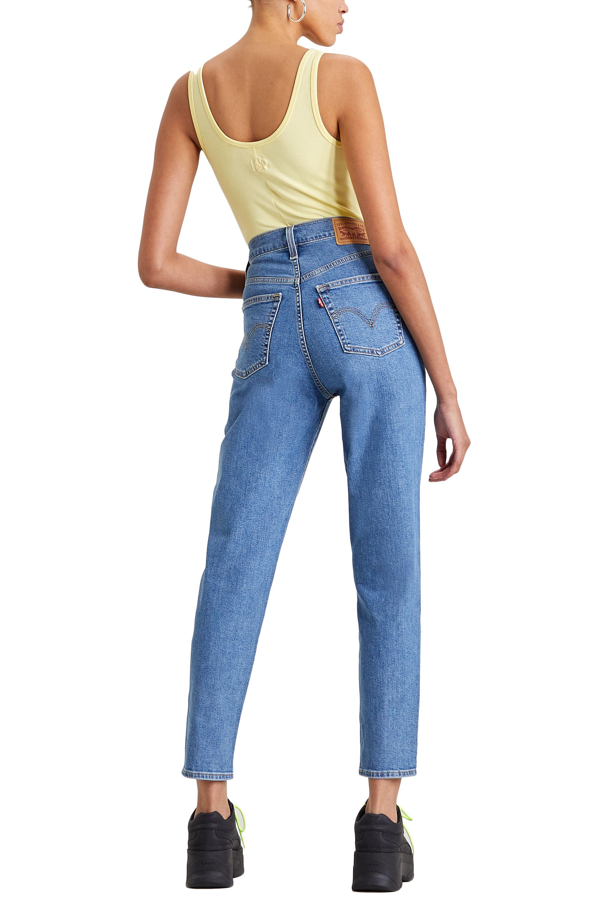 Calças Ganga Levis HIGH WAISTED TAPER Fyi