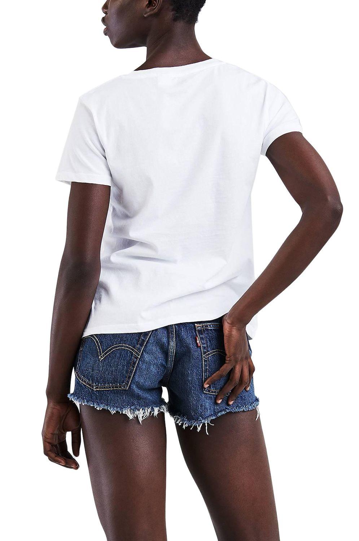 T-Shirt Levis THE PERFECT Sportswear Logo White