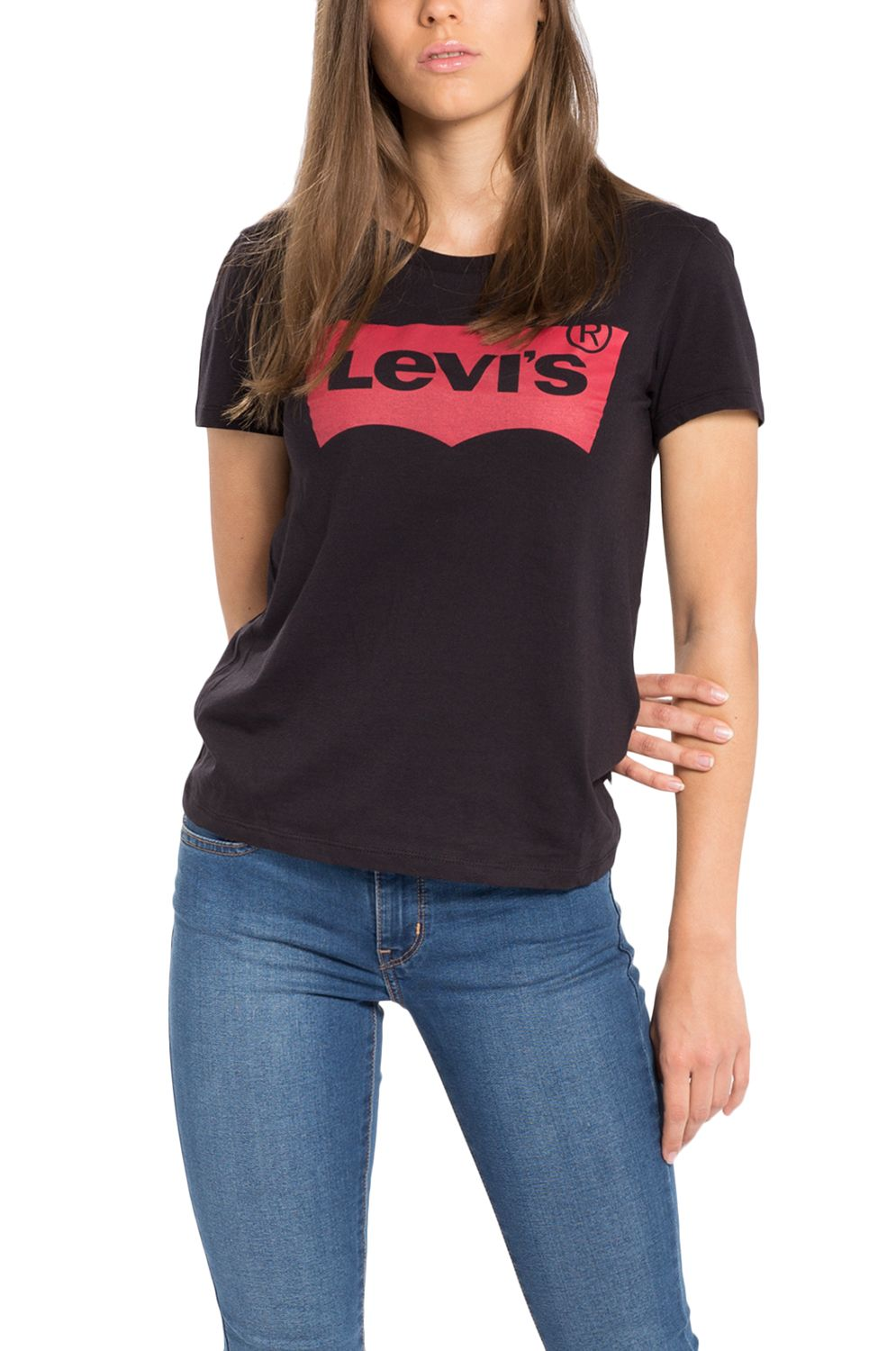 Levis T-Shirt THE PERFECT Mineral Black