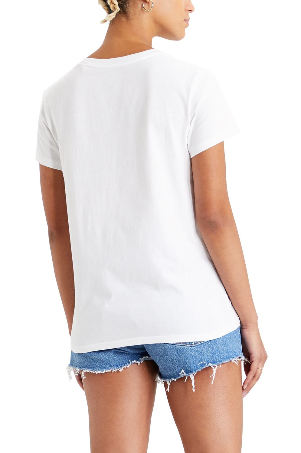T-Shirt Levis THE PERFECT TEE Box Tab Gradient White+