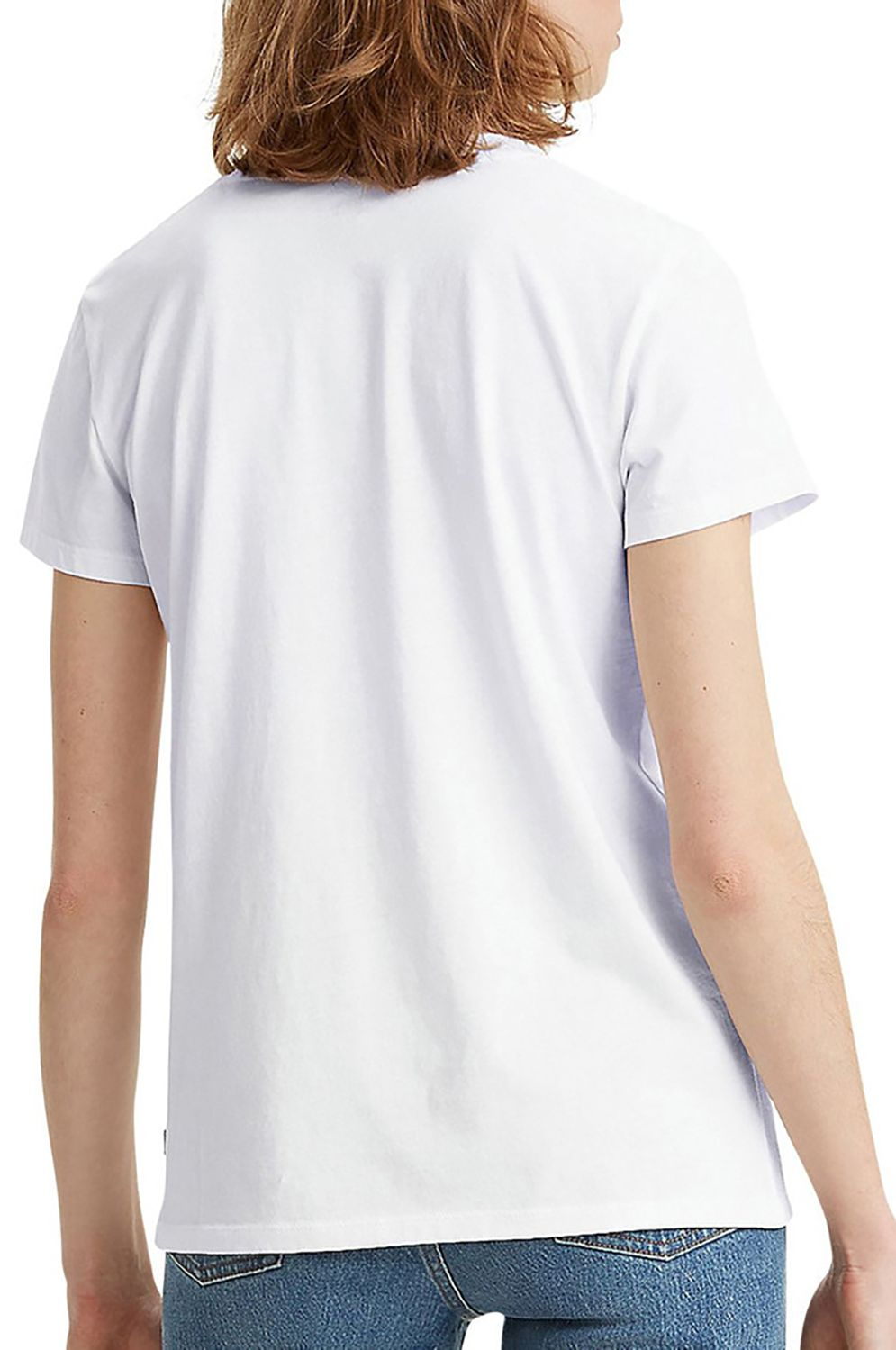 T-Shirt Levis THE PERFECT TEE Feminnine Logo With Technique White+