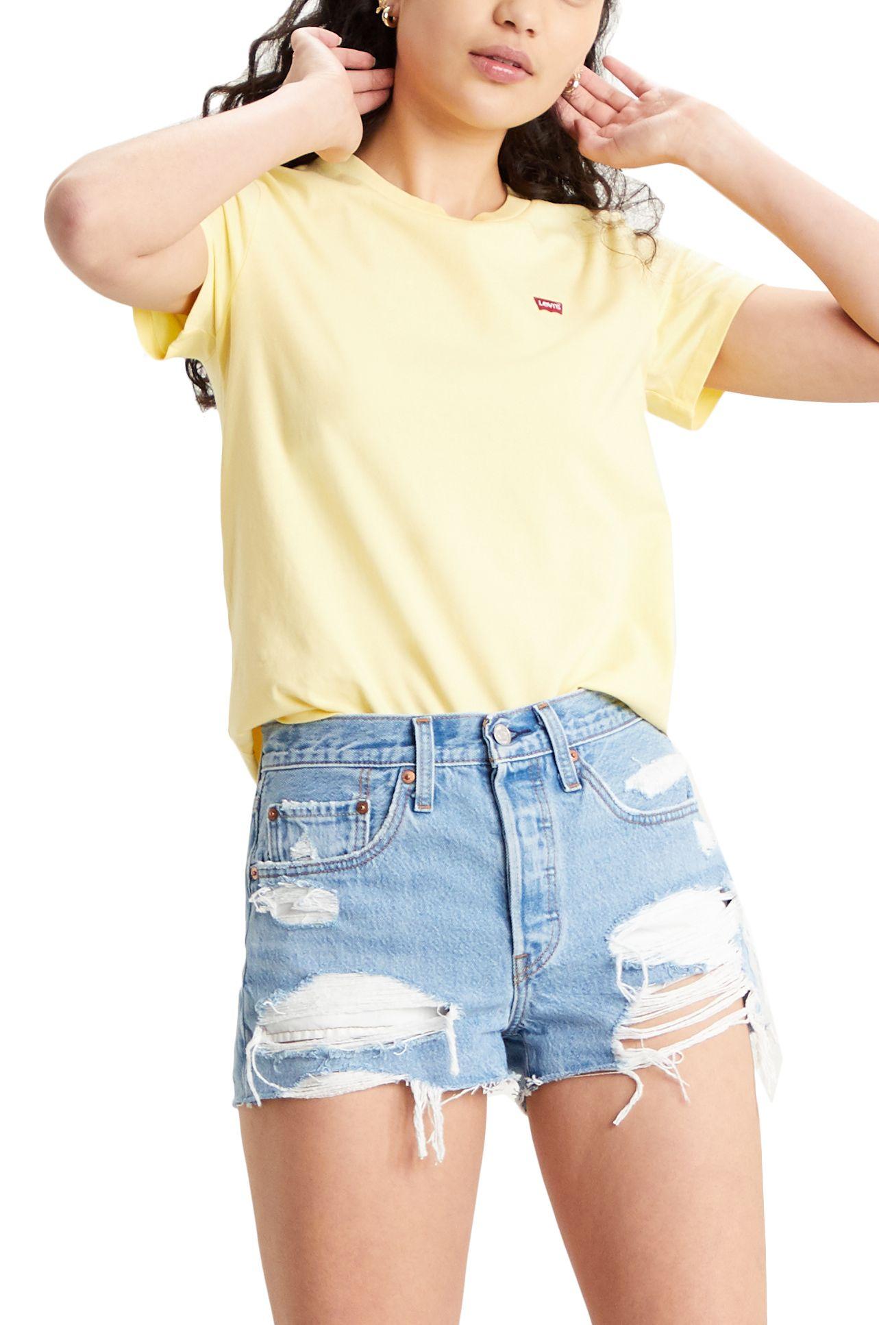 T-Shirt Levis PERFECT TEE Lemon Meringue