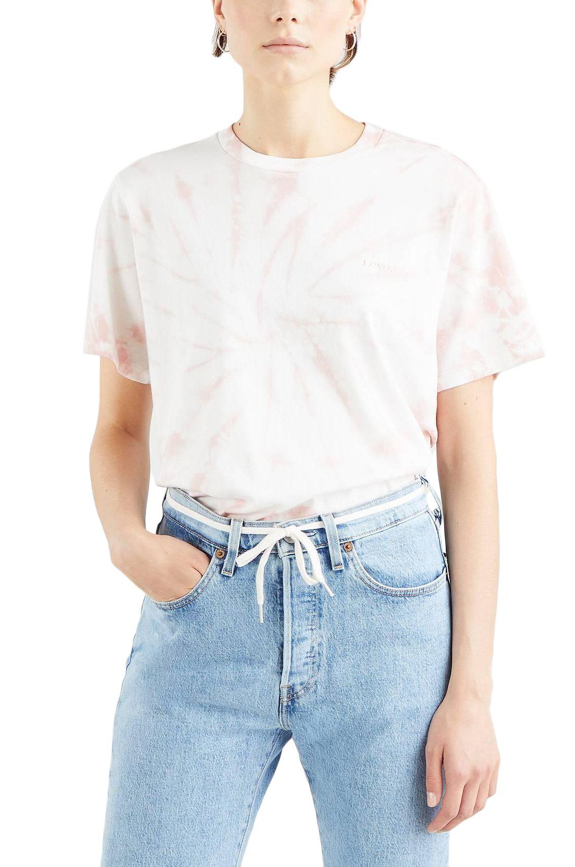 Levis T-Shirt GRAPHIC JET TEE Iris Tie Dye Dark Fa166136 Evening Sand