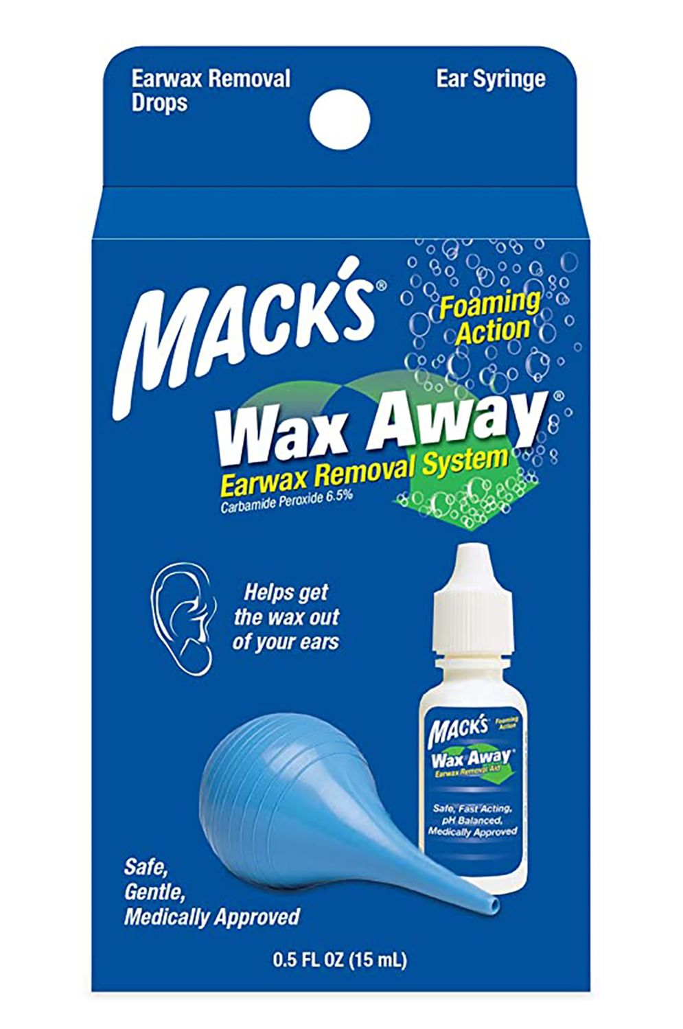 Mack'S Earplugs EAR DROPS Sortidas