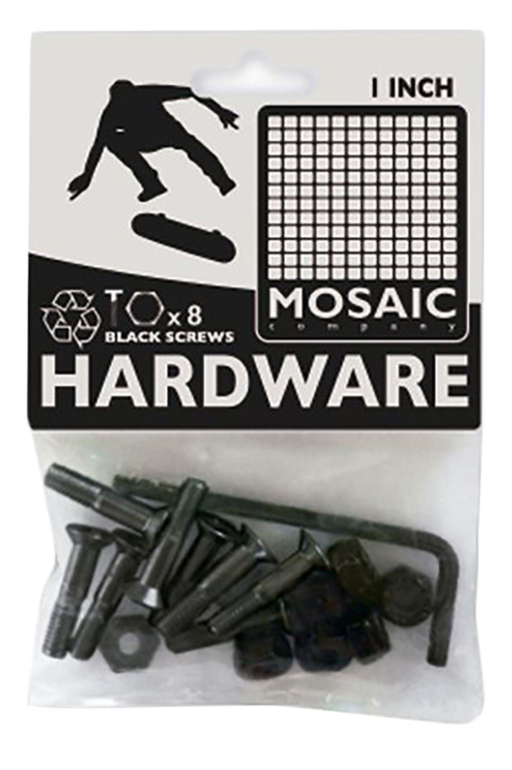 "Mosaic Company Screw 1"" ALLEN Black"