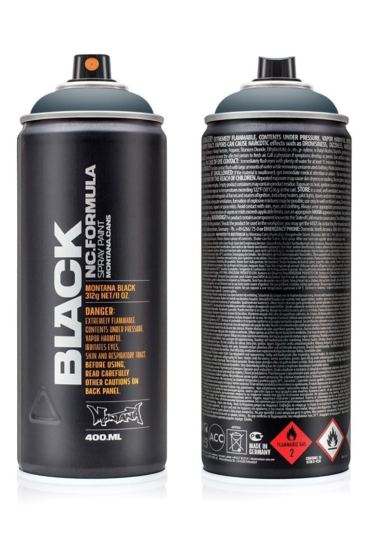 Canetas/Tintas Montana BLACK 400ML Space