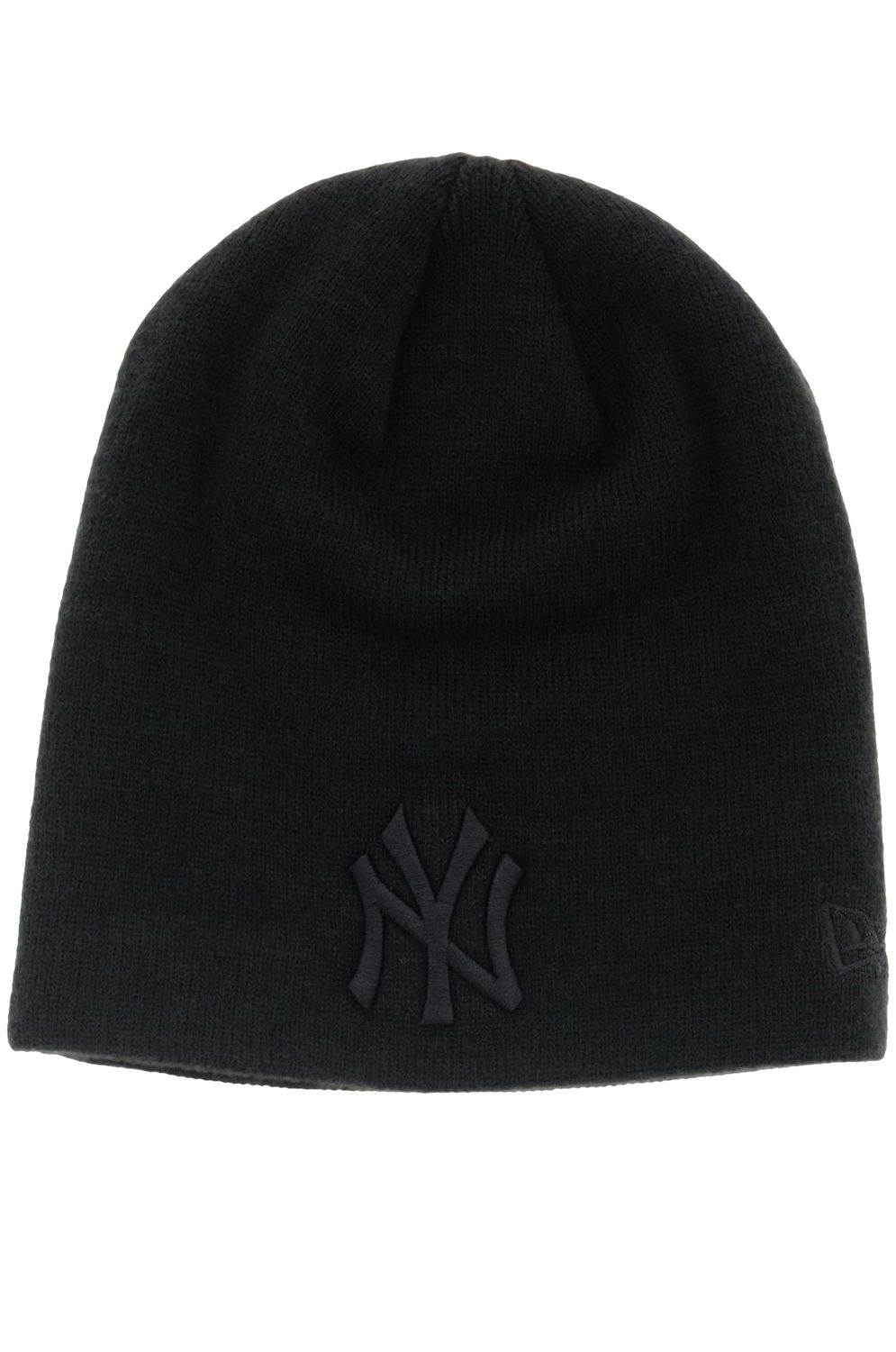 New Era Beanie DARK BASE SKULL Black/Black