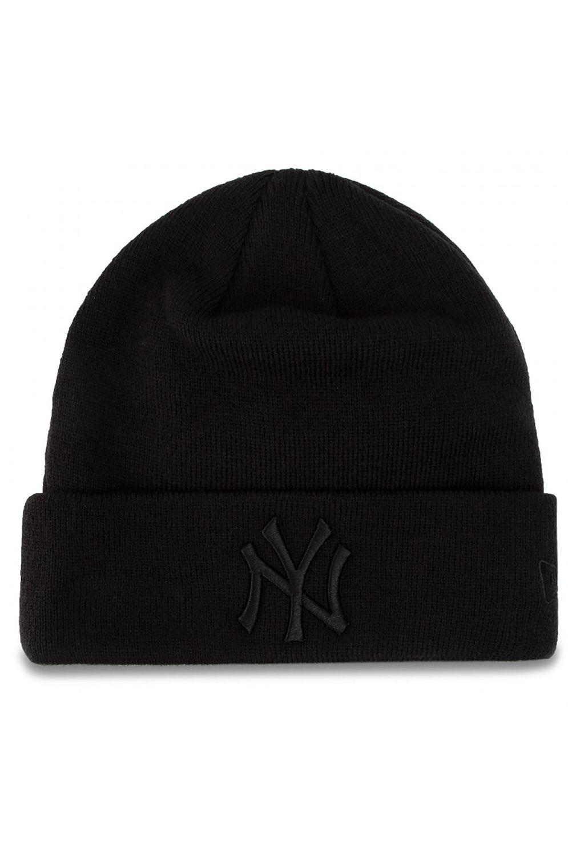 New Era Beanie MLB ESSENTIAL CUFF KNIT NEYYAN Black/Black